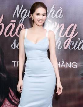 Đầm phi bóng 2 dây thiết kế cúp ngực đẹp như Ngọc Trinh #1359