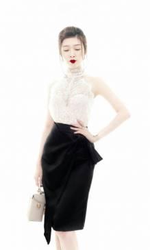 Bộ váy áo rời đẹp thiết kế ôm body trẻ trung #1400