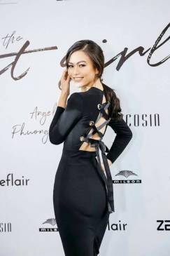 Đầm đen đân dây lưng thiết kế tay dài ôm body đẹp #1413