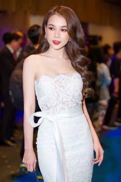 Đầm ren trắng dự tiệc thiết kế 2 dây ôm body đẹp #1452