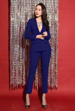 Bộ áo vest xanhcoban và Quần dài tây tuyệt đẹp #15923