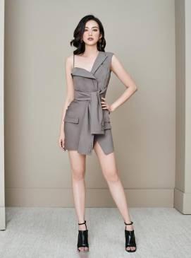 Đầm ôm body giả vest thiết trẻ trung cá tính #1791
