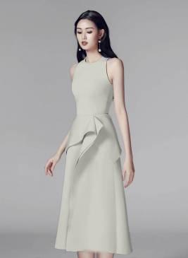 Đầm đẹp dự tiệc cưới thiết kế chữ A trẻ trung #1944