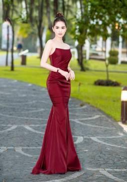 Đầm dạ hội đuôi cá phi đô cúp ngực thiết kế sang trọng # 2226