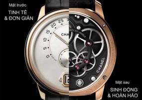 Thương hiệu đồng hồ nam giới Chanel Monsieur de Chanel
