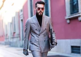 Suit phái mạnh màu sắc xám và 8 quy tắc cơ bản