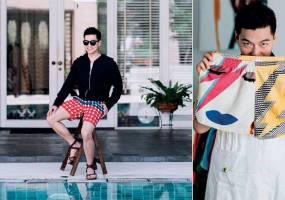 NTK thời trang Pow Foongfaungchaveng: Từ bàn giấy đến bãi biển