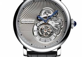 Đồng hồ thời trang Cartier phái mạnh Reversed Tourbillon: Tự do thể hiện