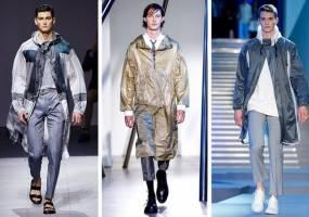 Cảm hứng áo mưa tạo xu hướng thời trang và năng động nam giới 2016