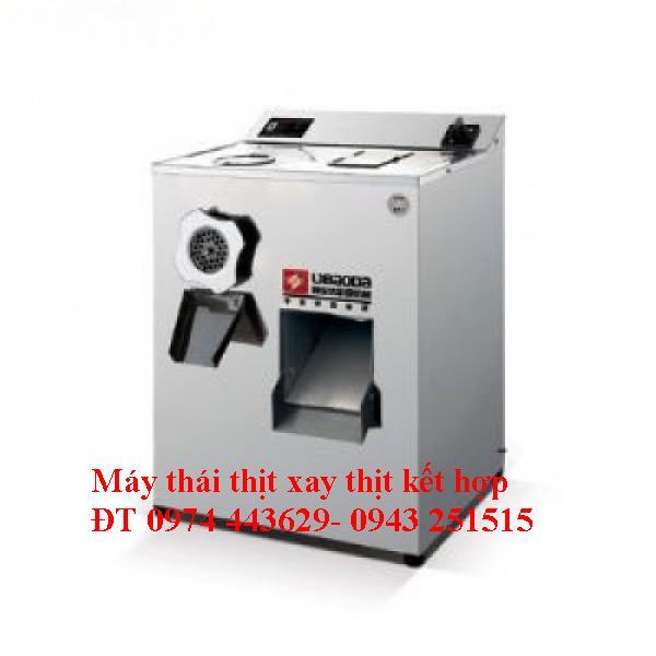 Máy xay thịt kết hợp máy thái thịt SXQJ300