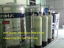 Dây chuyền lọc nước 125 lít/h