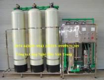 Dây chuyền lọc nước 250 lít/h