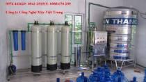 Dây chuyền lọc nước 750 lít/h