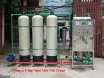 Dây chuyền lọc nước 800 lít/h