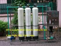 Dây chuyền lọc nước 1500 lít/h