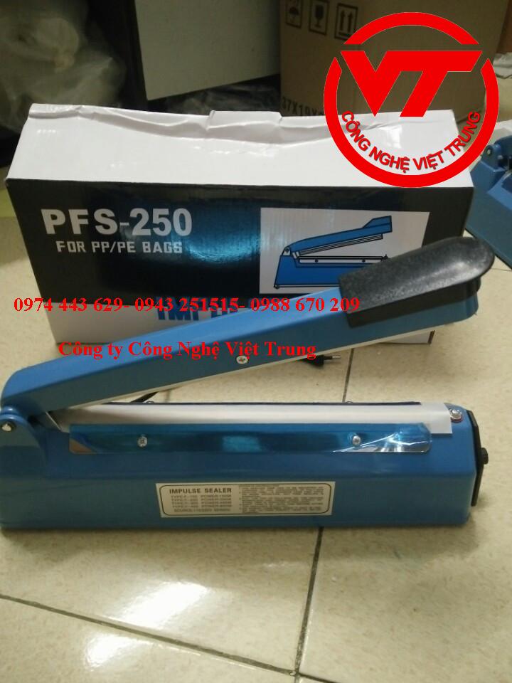 Máy hàn miệng túi dập tay PFS 250 ( VT-HT04)
