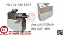 Máy ép dầu thực vật KD06 20-25KG/1H (VT-MED53)