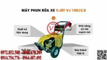 Máy phun xịt rửa V-JET 120/3.0 (VT-VJET08)