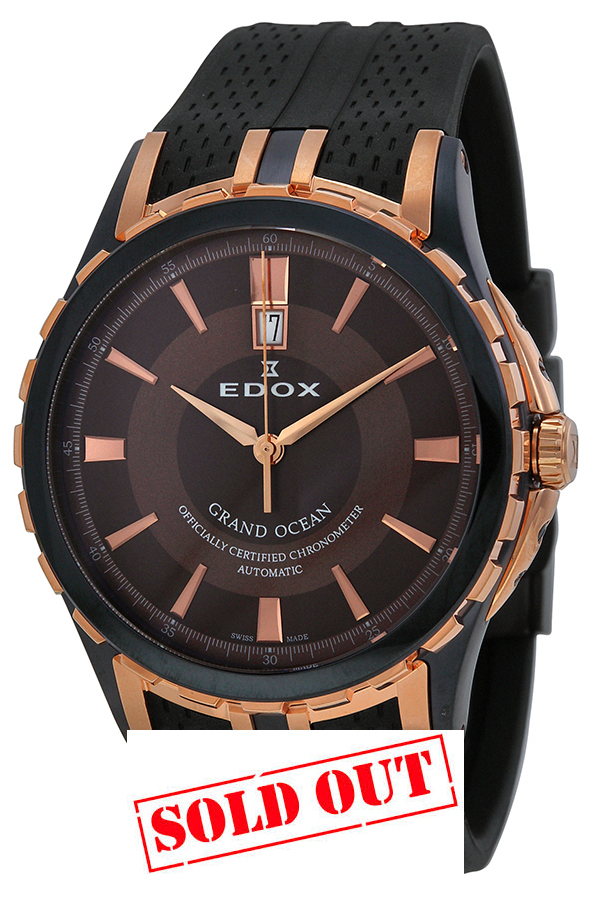 EDOX GRAND OCEAN LUXURY CHRONOMETER AUTOMATIC 80077-357-BRR-BRIR