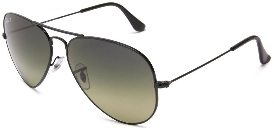 Ray-Ban aviator back green gradient polarized - RB 3025 002/76