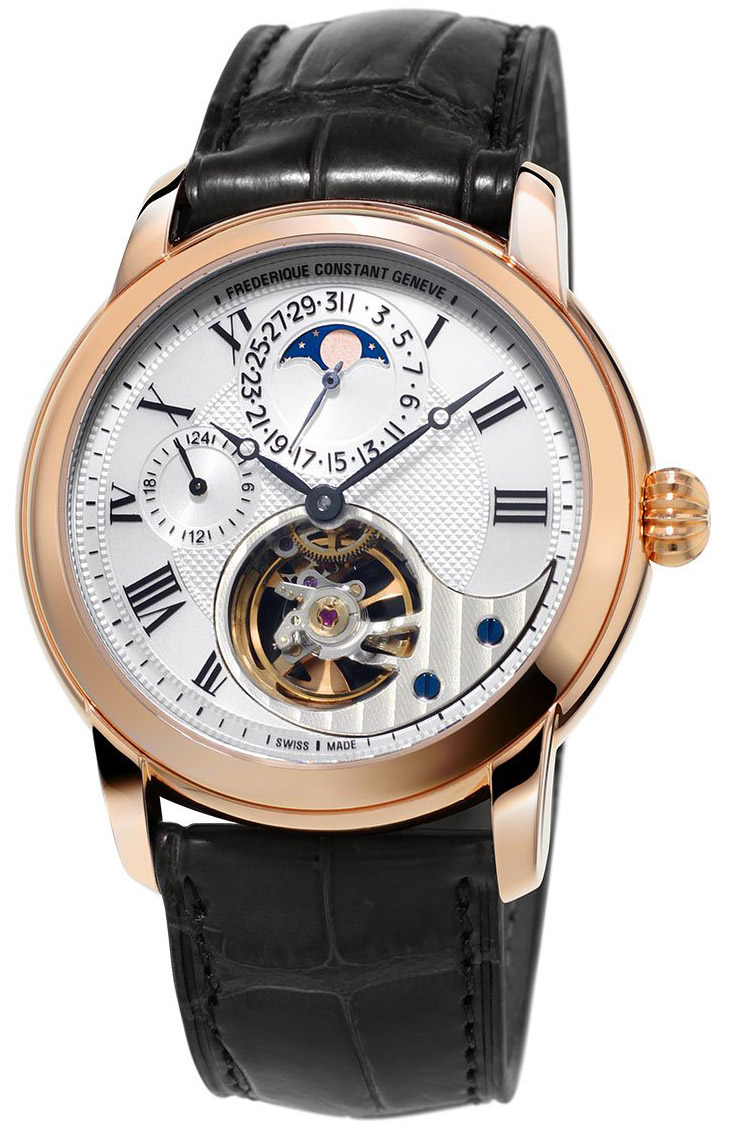 Frederique Constant Manufacture Heart Beat 18K Solid Rose Gold FC-945MC4H9