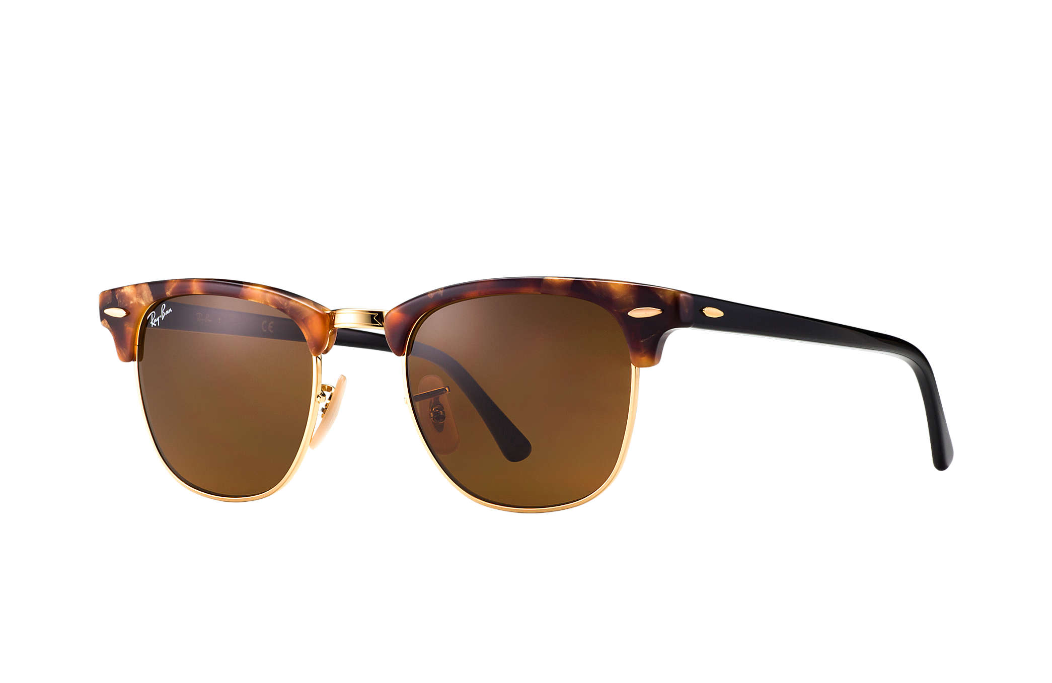 Ray Ban Clubmaster Fleck RB 3016 1160 size 51
