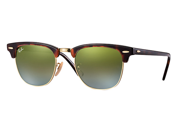 Ray-Ban Clubmaster Green Gradient RB 3016 990/9J
