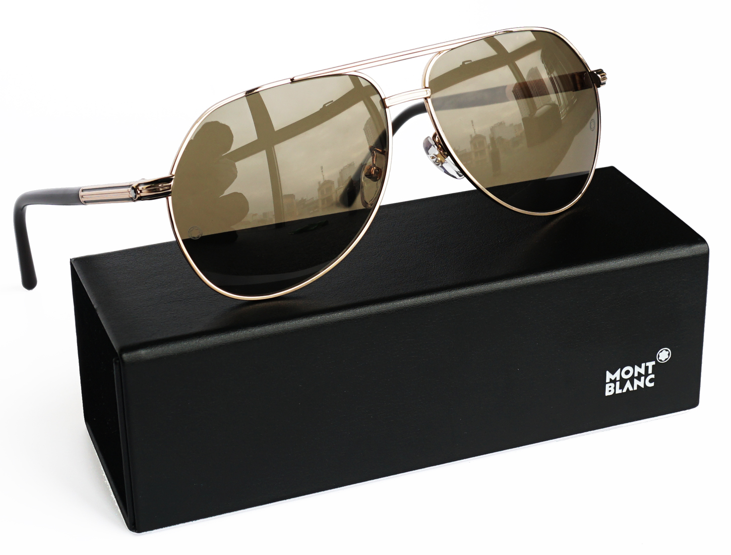 Montblanc MB 504t 28m Polarized Sunglasses