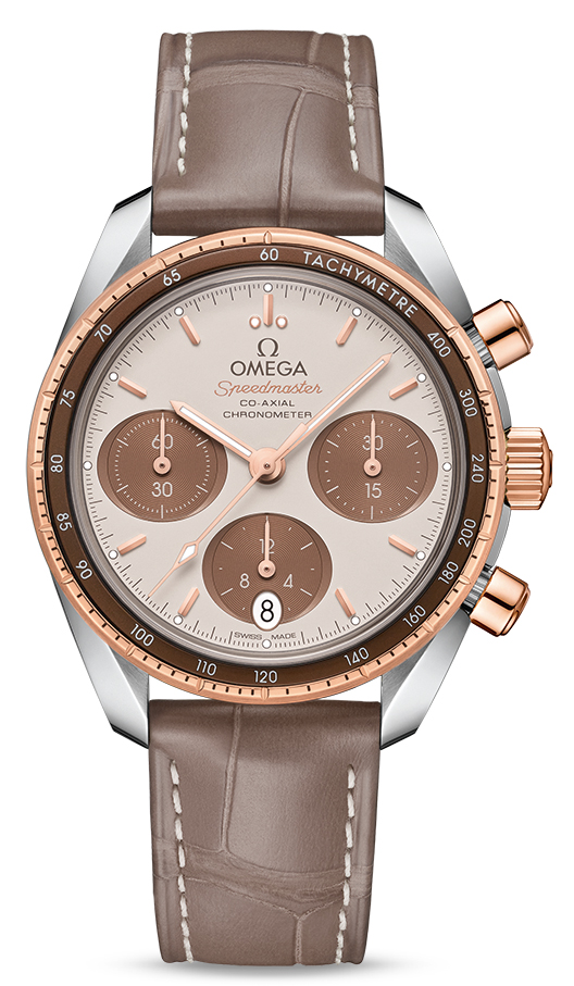 Omega Speedmaster 38 Co-axial Chronograph 38mm 324.23.38.50.02.002]