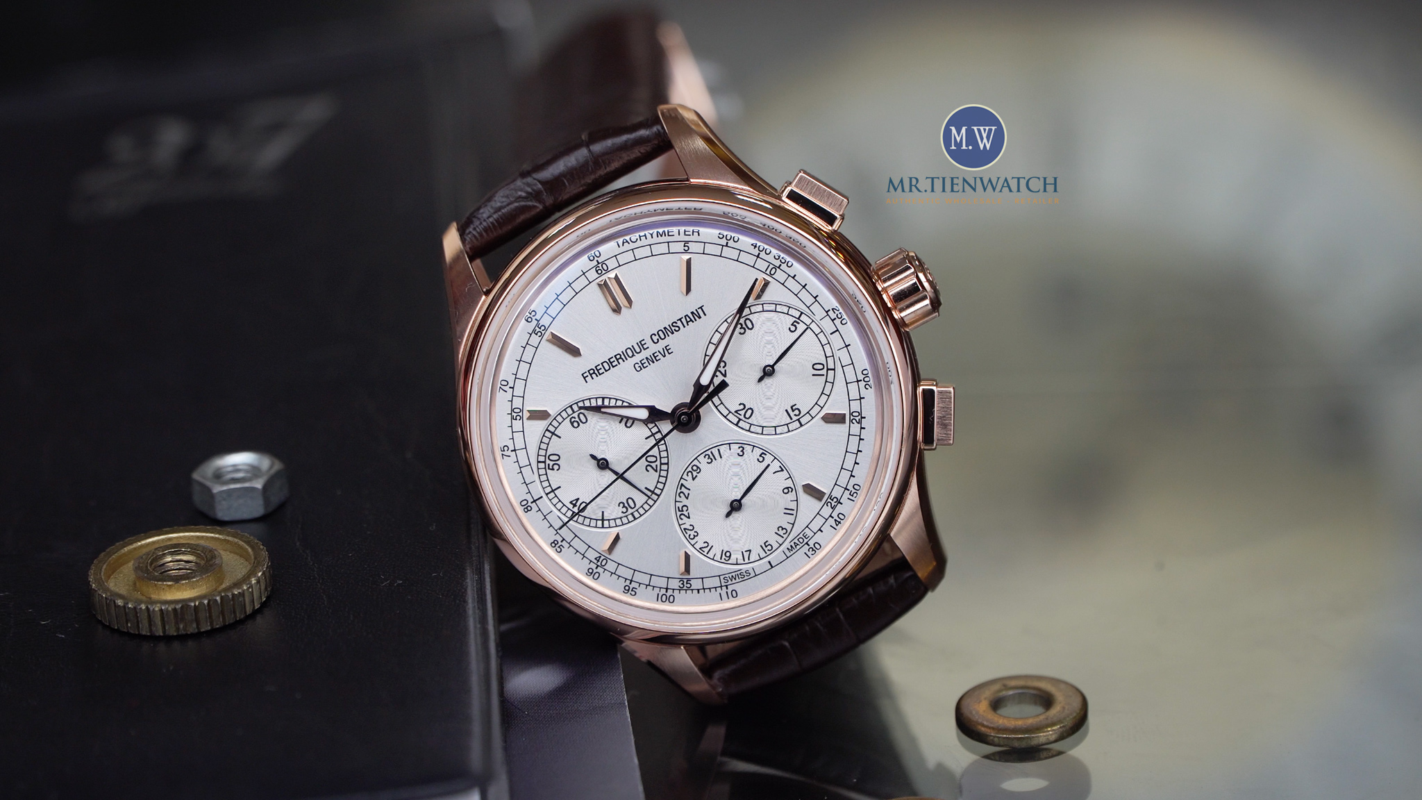 Frederique Constant Flyback Chronograph Manufacture FC-760 2017