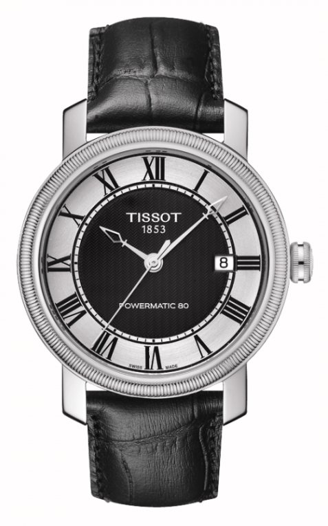 Tissot T0974071605300 Bridgeport Automatic Black Dial