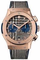 HUBLOT CHRONOGRAPH ITALIA INDEPENDENT PIEDS-DE-POULE KING GOLD LIMITED 50C-45MM 521.OX.2704.NR.ITI17