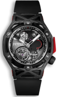HUBLOT TECHFRAME FERRARI TOURBILLON CHRONOGRAPH CARBON 45MM - LIMITED EDITION 70 - 408.QU.0123.RX