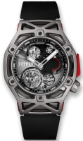 HUBLOT TECHFRAME FERRARI TOURBILLON CHRONOGRAPH TITANIUM 45MM - LIMITED EDITION 70 - 408.NI.0123.RX