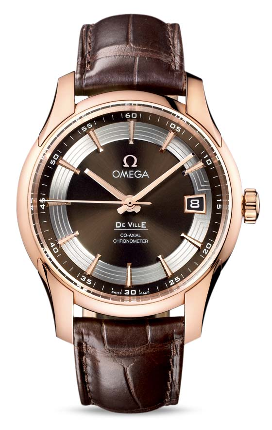 OMEGA DE VILLE HOUR VISION OMEGA CO‑AXIAL 41 MM 431.63.41.21.13.001]
