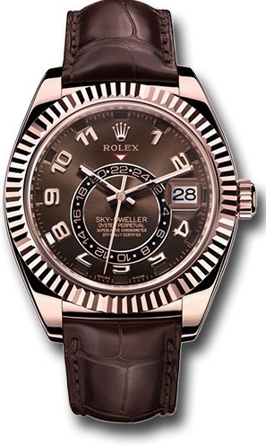 Rolex Sky-Dweller Everose Gold - 326135]
