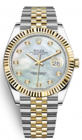 Rolex Datejust Oystersteel and Yellowgold 41mm - 126333