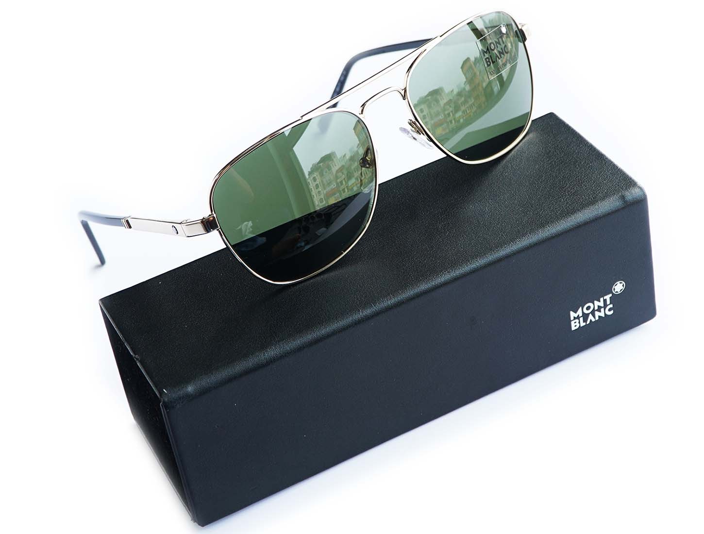 MONTBLANC Green General Sunglasses MB649S 32N 56
