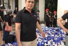 Hoàng Nguyễn CCTV ủng hộ đồng bào miền Trung lũ lụt