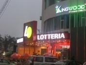 Bộ chữ Lotteria - Trung Kính