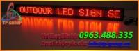 BẢNG, BIỂN HIỆU ĐIỆN TỬ LED P10 ĐƠN SẮC ĐỎ NGOÀI TRỜI