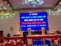 Màn hình LED P5 trong nhà 25m2 nhà hàng Chen Nam Định
