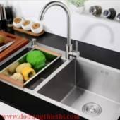 Vòi rửa chén inox 304 DDTB3145 + tặng dây cấp nước 40cm