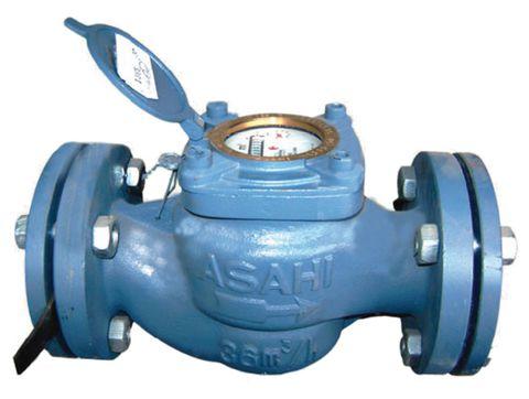 """Đồng hồ nước từ 114mm DN100 (4"""") ASAHI có kiểm định"""