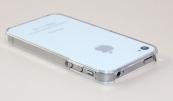 Ốp viền nhựa trong suốt cho iPhone 4 4s