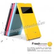 Bao-da-Fresh-cho-Sony-Xperia-Z1-hieu-Nillkin