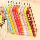 Ốp viền nhựa SGP cho iphone 4 4s màu sắc cá tính