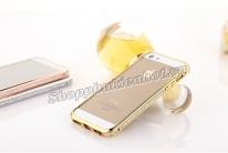 Ốp viền đính đá cao cấp cho iPhone 5 5s