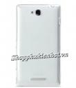 Ốp lưng silicone Melkco cho Sony Xperia C