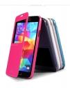 Bao da Sparkle cho Samsung Galaxy S5 G900 hiệu Nillkin